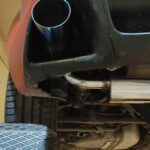 MAZDA RX8 τελικα καζανακια inox με μπουκες f100 καμενες
